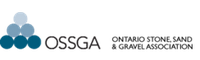 Logo for OSSGA - The Ontario Stone, Sand, and Gravel Association