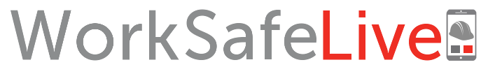 The logo for the WorkSafeLive software from Greycoat.